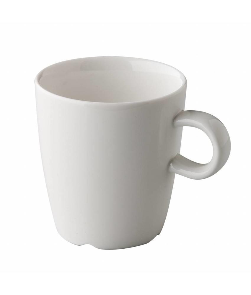 Q Fine China Koffiekop 220 ml ( 6 stuks)
