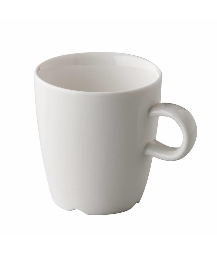 Q Fine China Koffiekop 170 ml ( 6 stuks)