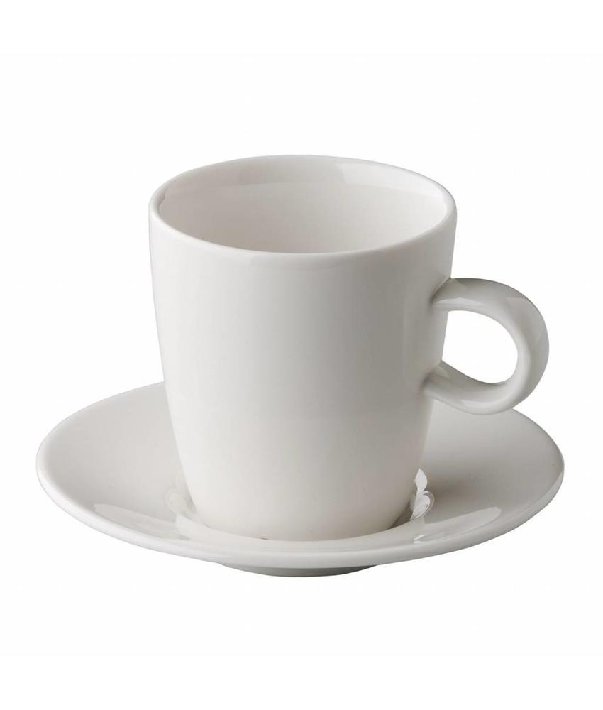 Q Fine China Alles-in-een QFC espressokop 100 ml 6 stuks