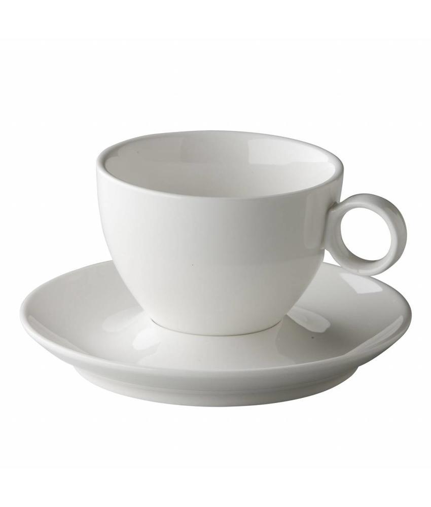 Coffeepoint Latte / cappuccino kop bolvormig 300ml ( 6 stuks)