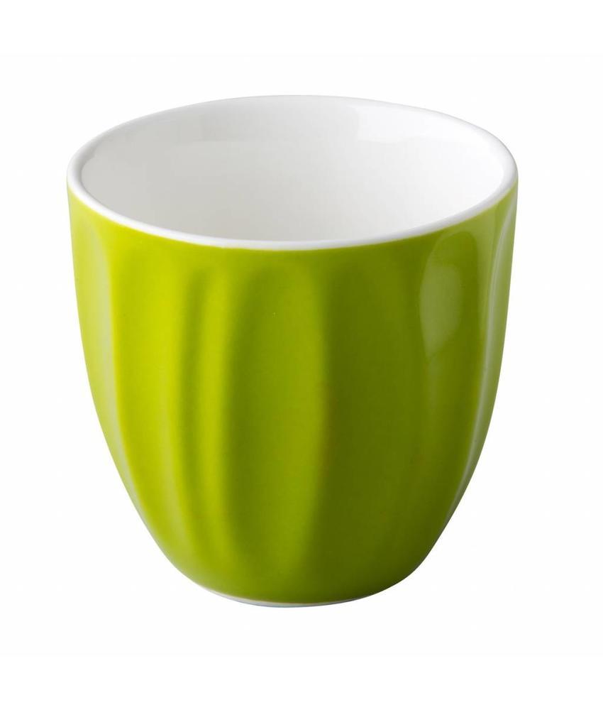 Coffeepoint Stapelbare koffiekop groen 180 ml ( 6 stuks)