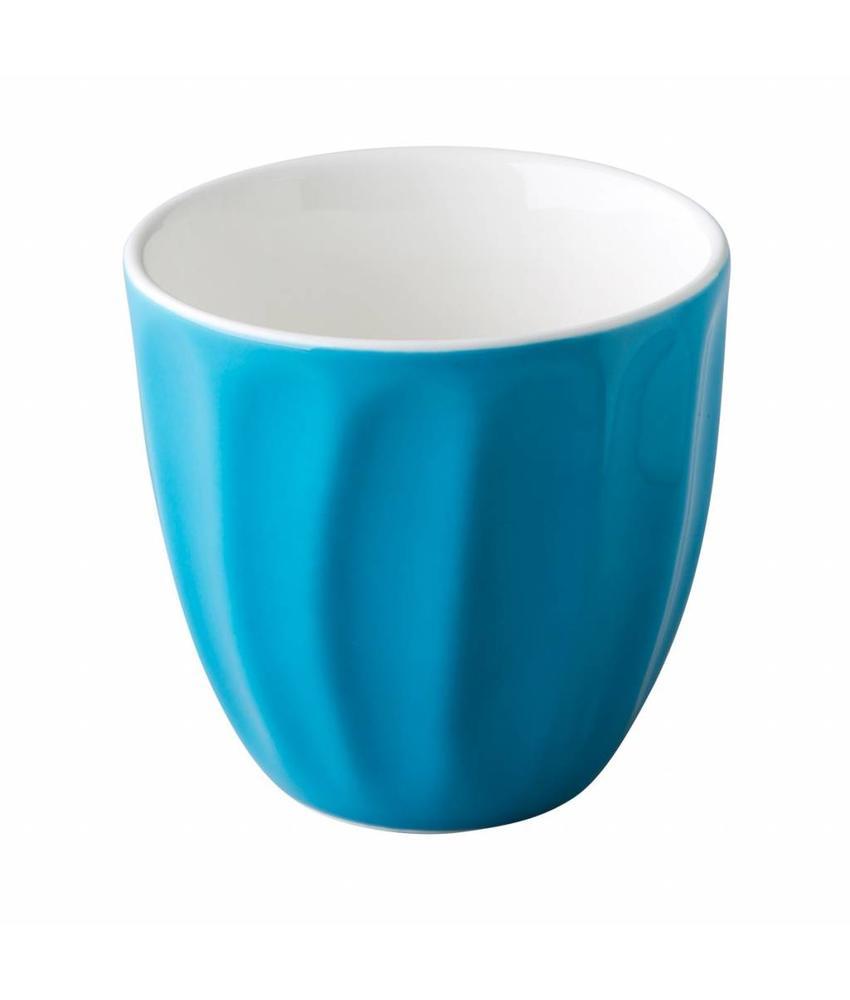 Stylepoint Coffeepoint stapelbare koffiekop blauw 180 ml 6 stuks