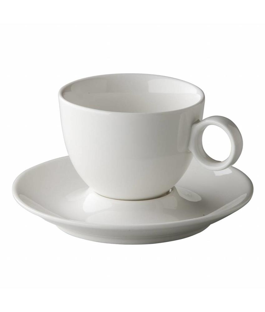 Coffeepoint Cappuccino kop bolvormig 220 ml ( 6 stuks)