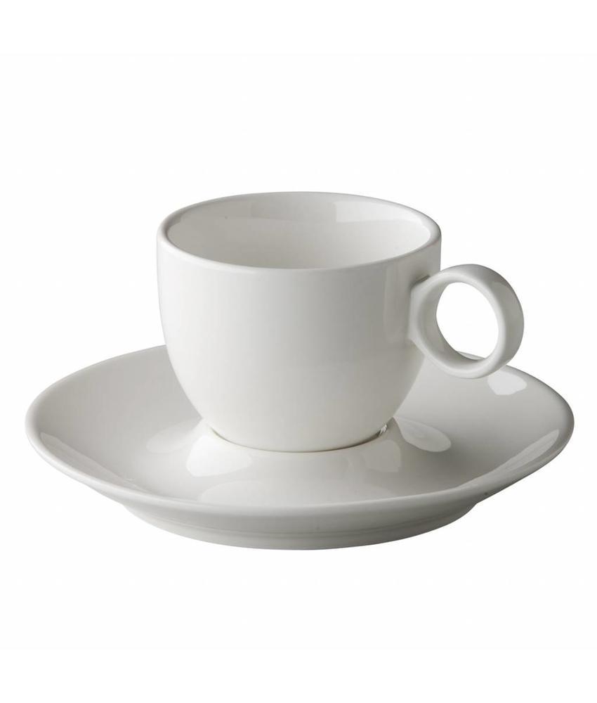 Stylepoint Coffeepoint koffiekop bolvormig 150 ml 6 stuks