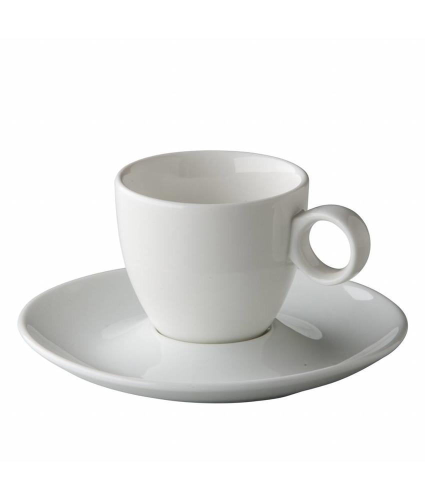 Stylepoint Coffeepoint espressokop bolvormig 80 ml 6 stuks