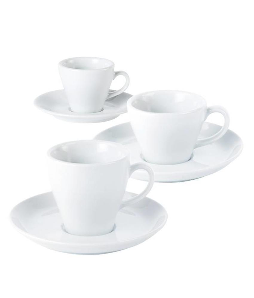 Porcelite Standard espressokop 90 ml ( 6 stuks)