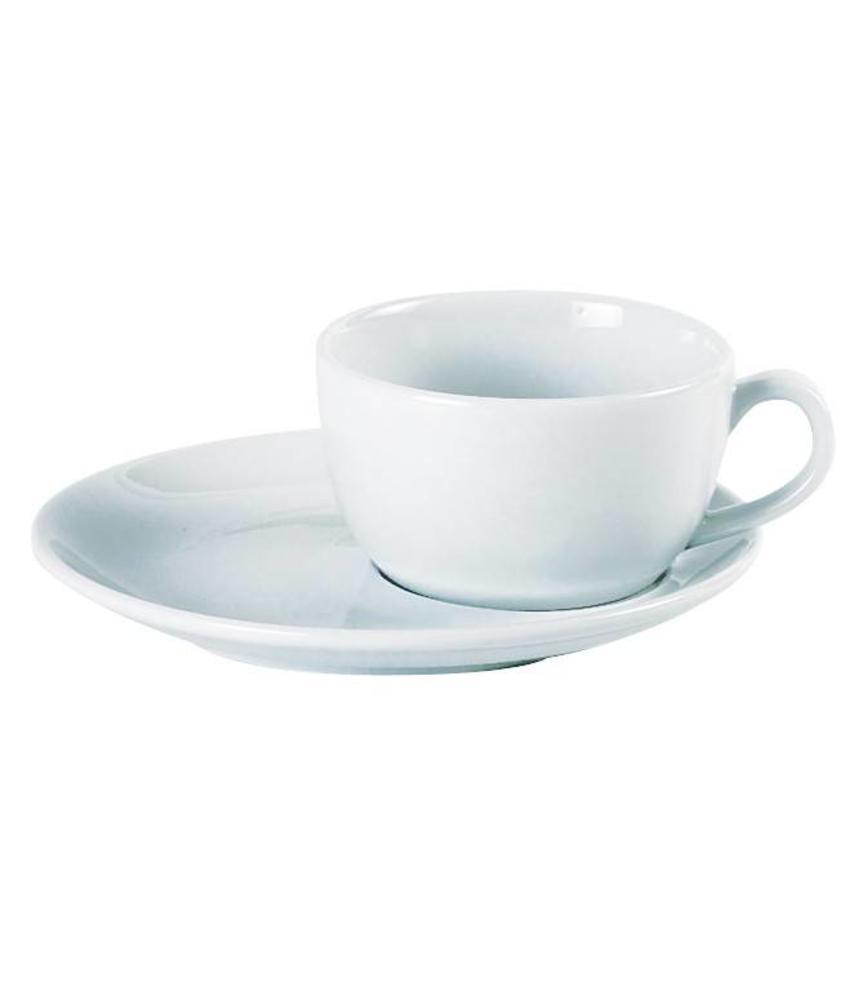 Porcelite Standard grande cappuccino / espressokop 90 ml 6 stuks