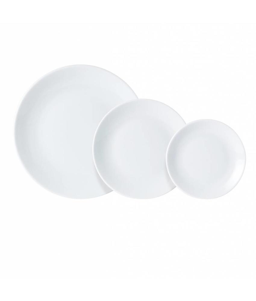 Porcelite Standard coupe bord ( 6 stuks)