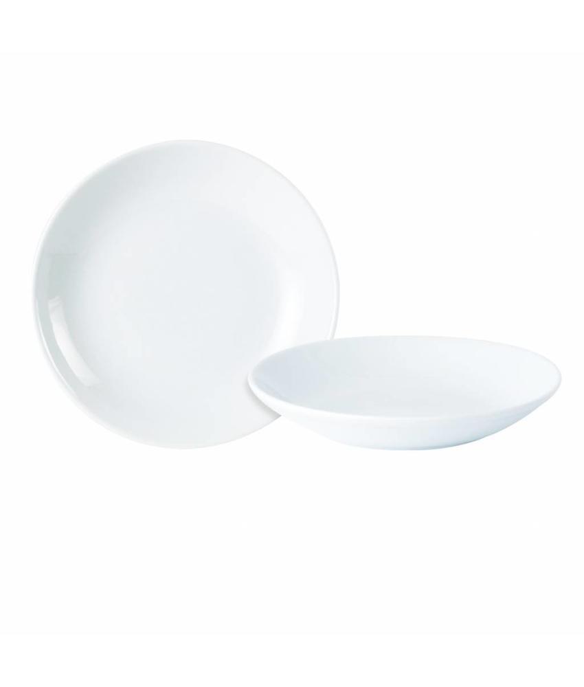 Porcelite Standard coupe bord diep ( 6 stuks)