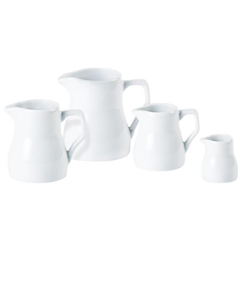 Porcelite Standard melkkan traditioneel 75 ml ( 6 stuks)
