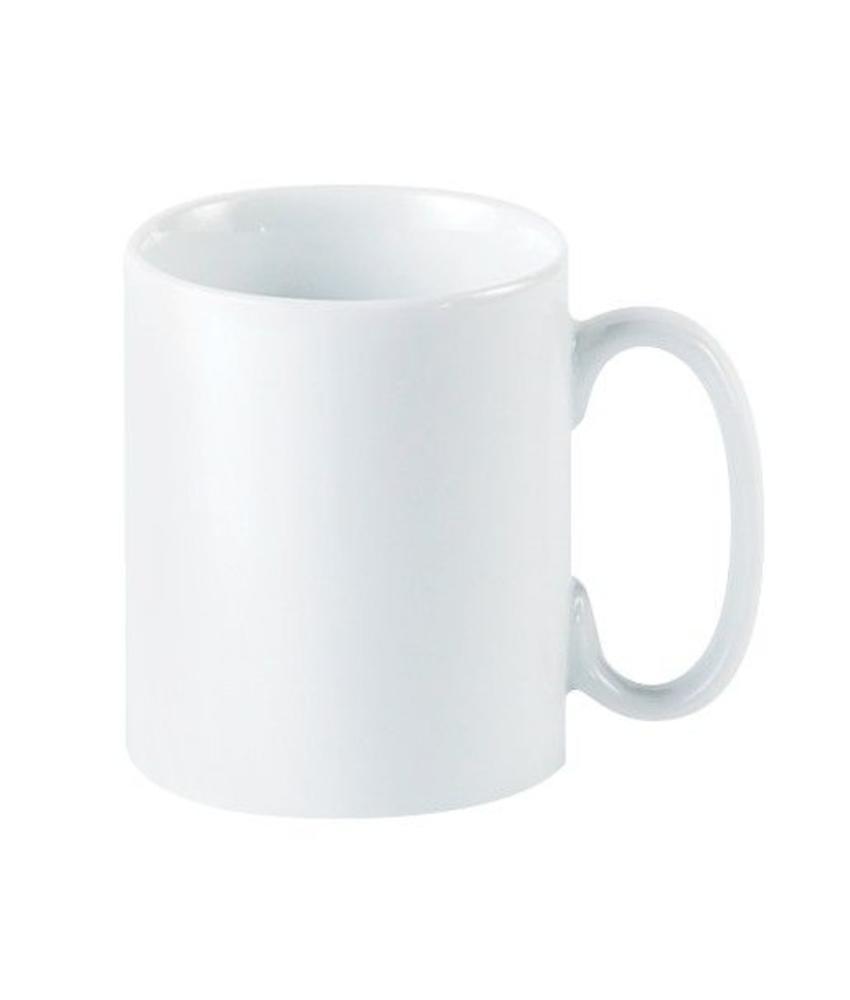 Porcelite Standard kantoormok 340 ml ( 6 stuks)