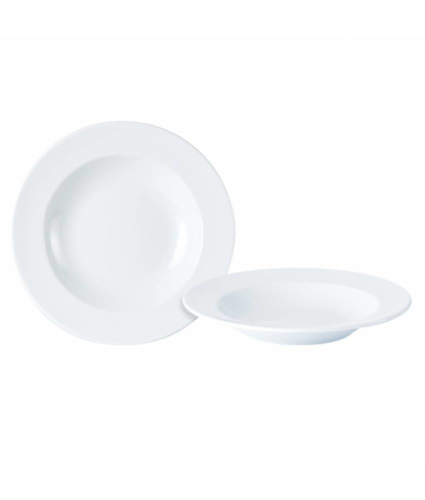 Porcelite Standard pasta & soepbord ( 6 stuks)