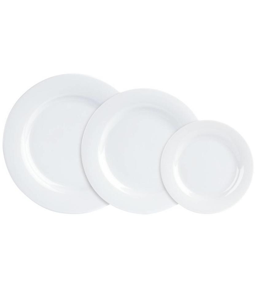 Procelite Banquet Banquet bord  (lichtgewicht) ( 6 stuks)