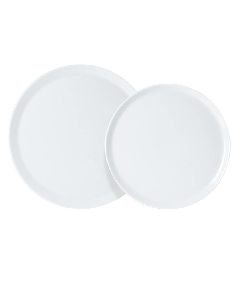 Porcelite Standard pizza bord 32 cm 6 stuks