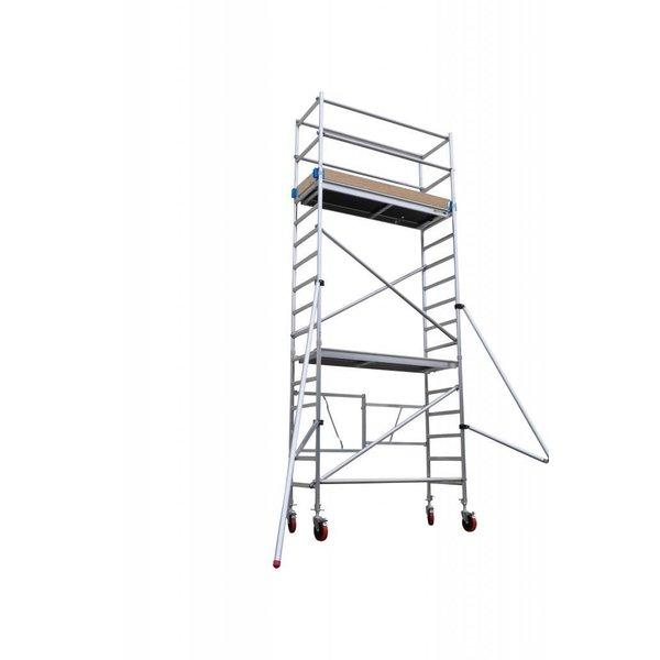 Vouwsteiger 5,8 meter werkhoogte