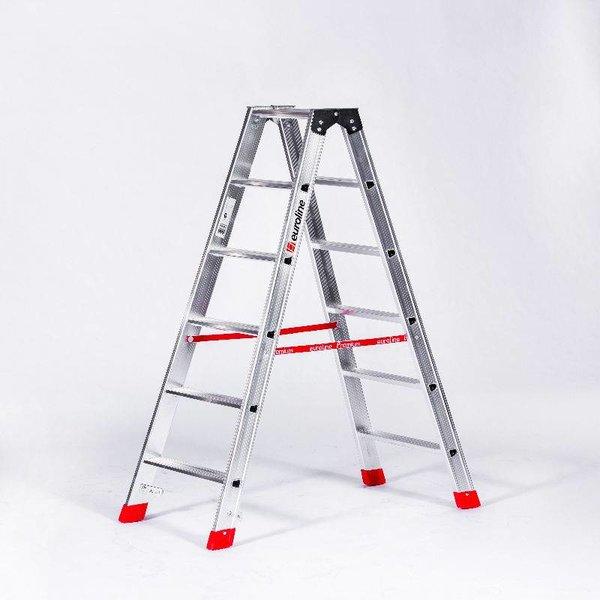 Dubbele trap Premium-Line 2x6