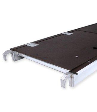Rolsteiger platform met luik 400 cm