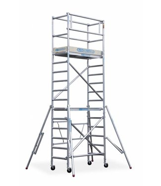 Maandaanbieding; Steiger Compact werkhoogte 5,5 meter (module 1+2+3)