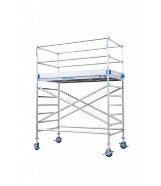 Euroscaffold Rolsteiger Compleet 75 x 190 x 4,2 meter werkhoogte