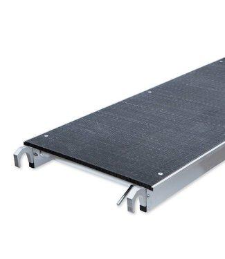 Platform carbon  zonder luik 400 cm