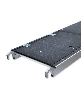 Platform carbon met luik 190 cm