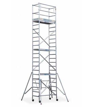 Maandaanbieding; Steiger Compact werkhoogte 7,8 meter (module 1+2+3+4)