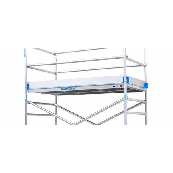 Kantplankset aluminium 75 x 305