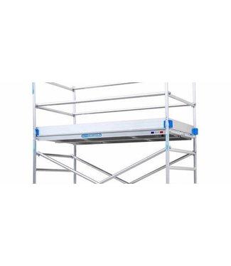 Kantplankset aluminium 135 x 190