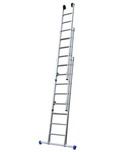 Driedelige ladder 3x8 Basic recht | 5.75 meter