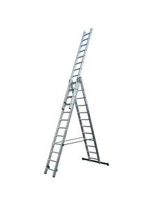 Driedelige ladder 3x12 DHZ | 9.0 meter
