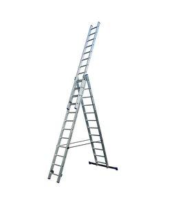 Driedelige ladder 3x12 DHZ