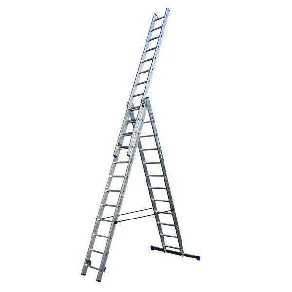 Driedelige ladder 3x12 DHZ   8.30 meter