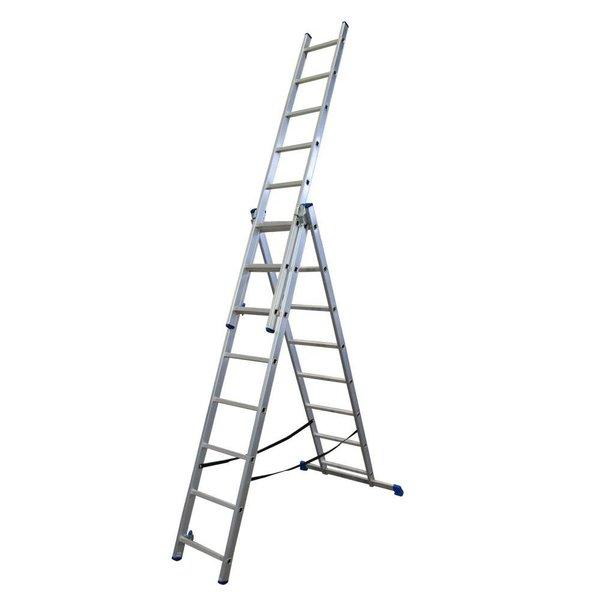 Driedelige ladder 3x8 DHZ | 5.10 meter