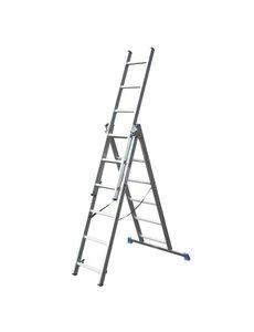 Driedelige ladder 3x6 DHZ  | 4.75 meter