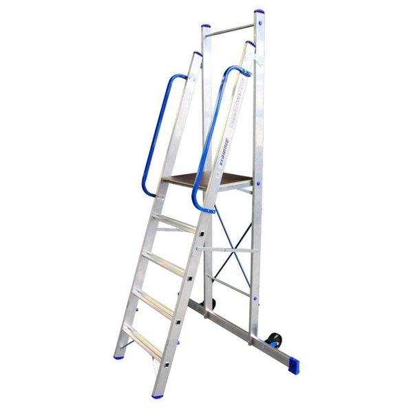 Platform ladder 5 treden