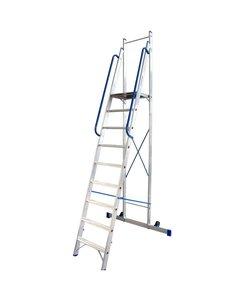 Platform ladder 9 treden