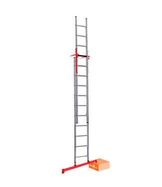 Tweedelige ladder Smart Level en Top Safe 2 x14