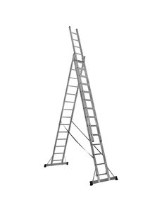 3 x 10 Top Safe Professionele reformladder