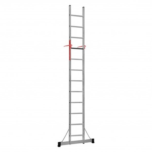 1 x 12 Top Safe Professionele enkele ladder