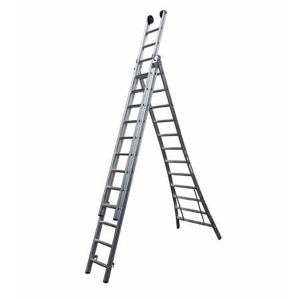 Driedelige ladder Basic 3x10 | 7.25 meter