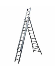 Driedelige ladder Basic 3x12 | 8.75 meter
