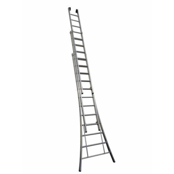 Driedelige ladder Basic 3x14  | 10.0  meter