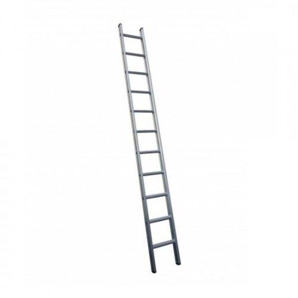 Enkele ladder 1x28 Maxall recht met stabiliteitsbalk