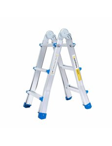 Eurostairs Multifunctionele Vouwladder 4x3 treden