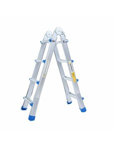 Eurostairs Multifunctionele Vouwladder 4x4 treden