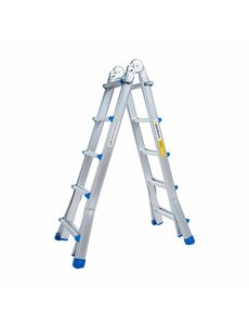 Eurostairs Multifunctionele Vouwladder 4x5 treden