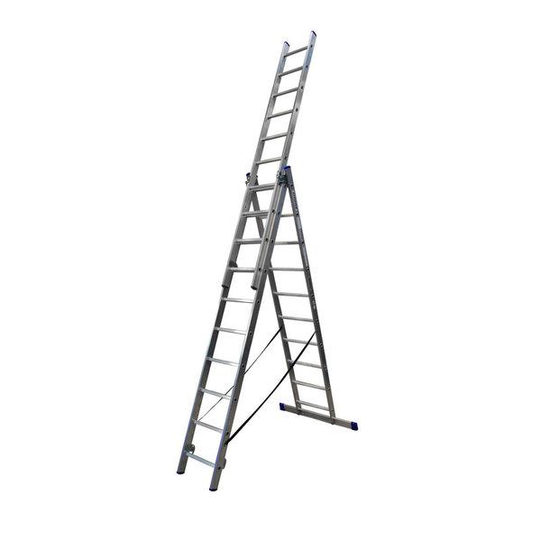 Driedelige ladder 3x10 DHZ | 6.80 meter