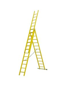 Kunststof ladder GVK 3x8 treden