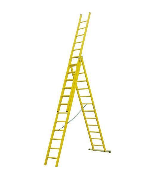 Kunststof ladder GVK 3x10 treden