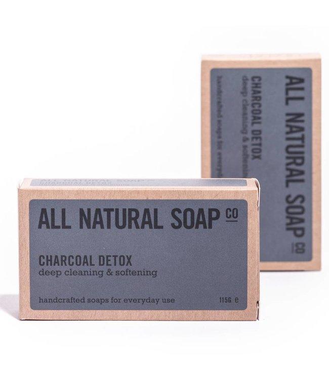 All Natural Soap Charcoal Detox Soap - 115 gram